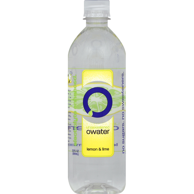 Owater Water, Unsweetened, Lemon & Lime