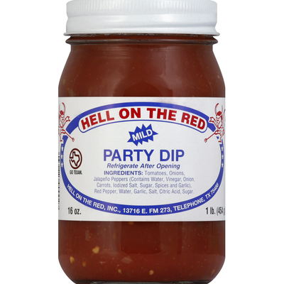 Hellonthered Party Dip, Mild