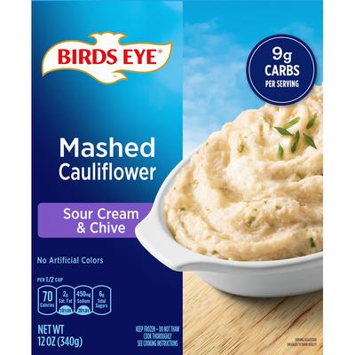 Birds Eye Mashed Cauliflower, Sour Cream & Chives