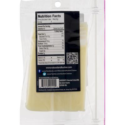 Natural & Kosher Mozzarella Cheese