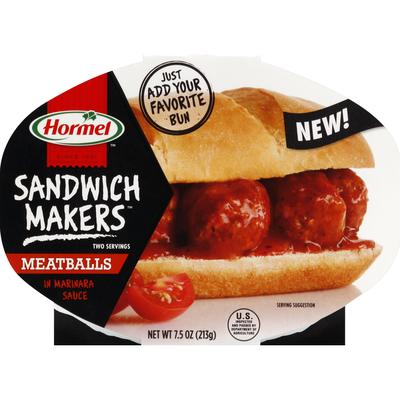 Hormel Meatballs, in Marinara Sauce