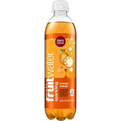 Glaceau Fruitwater Orange Mango Sparkling Water Beverage