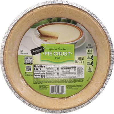 Signature Select Pie Crust, Graham Cracker, 9 Inch Size
