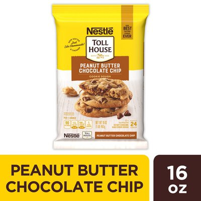 Toll House Nestle  Peanut Butter Chocolate Chip Cookie Dough