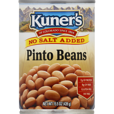 Kuners Pinto Beans, No Salt Added