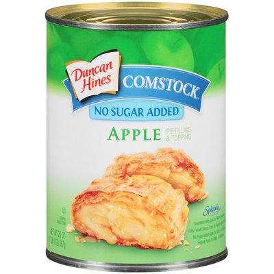 Duncan Hines Comstock Apple No Sugar Added Pie Filling & Topping