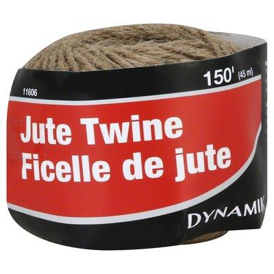 Dynamik Twine, Jute, 150 Feet