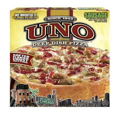 """Uno 9"""" Deep Dish Sausage Pizza"""