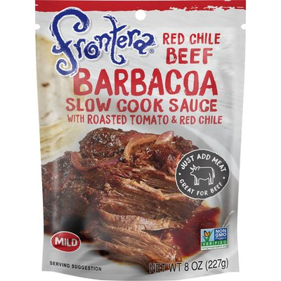 Frontera Red Chile Beef Barbacoa Slow Cook Sauce