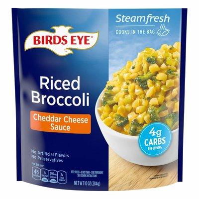 Birds Eye Riced Broccoli, Cheddar Cheese Sauce