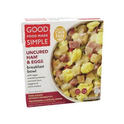 Good Food Made Simple Uncured Ham & Eggs Breakfast Bowl