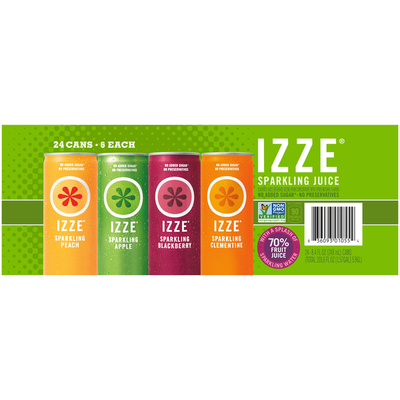 Izze Variety Sparkling Juice Beverage