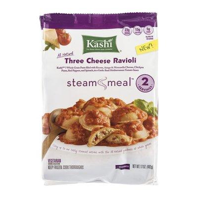 Kashi Steam Meal Three Cheese Ravioli