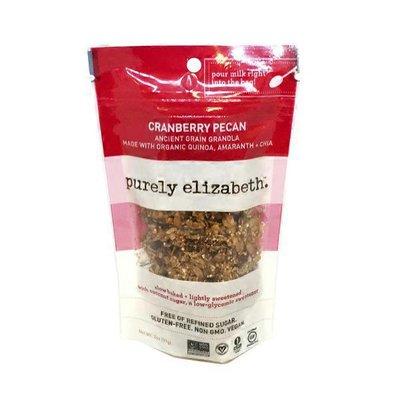 Purely Elizabeth. Cranberry Pecan Ancient Grain Granola