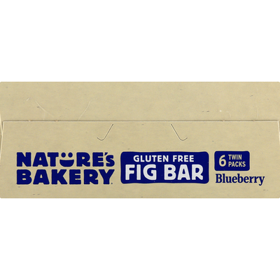 Nature's Bakery Gluten Free Bluebery Fig Bar
