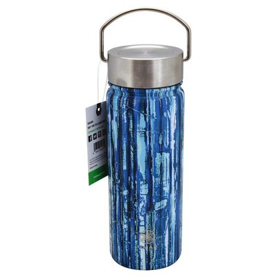 Gaiam Water Bottle, Wide-Mouth, 18 Ounce
