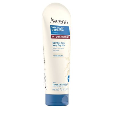 Aveeno Skin Relief Overnight Cream Intense Moisture Fragrance Free