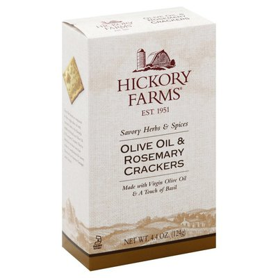 Hickory Farms Crackers, Olive Oil & Rosemary