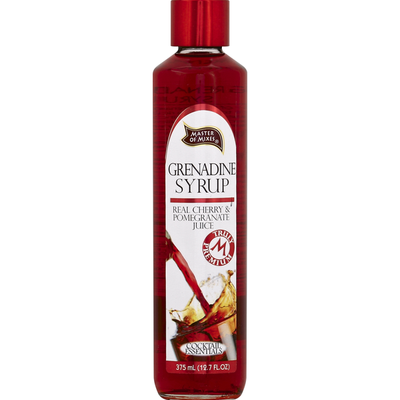 Master of Mixes Grenadine Syrup