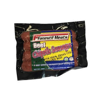 Fanestil Meats Grass Fed Chipotle Sausage