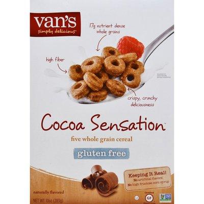 Van's Cereal, Gluten Free, Cocoa Sensation