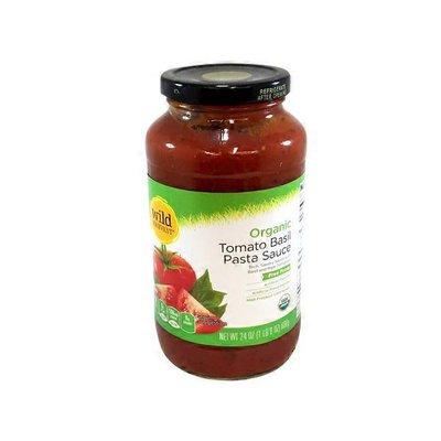 Wild Harvest Organic Tomato Basil Pasta Sauce