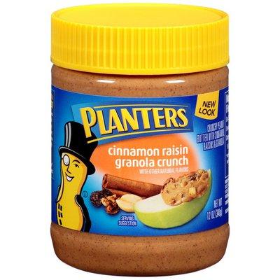 Planters Cinnamon Raisin Granola Crunch Peanut Butter