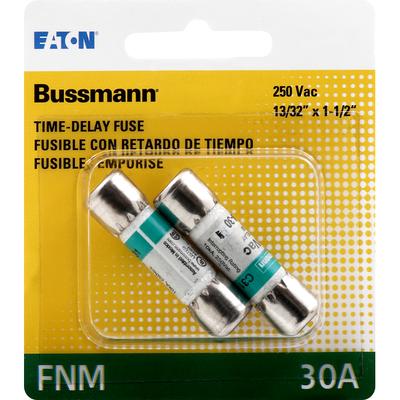Bussmann Fuse, Time-Delay, FNM, 30A