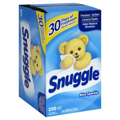 Snuggle Dryer Sheets, Blue Sparkle