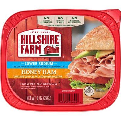 Hillshire Farm Lower Sodium Honey Deli Ham