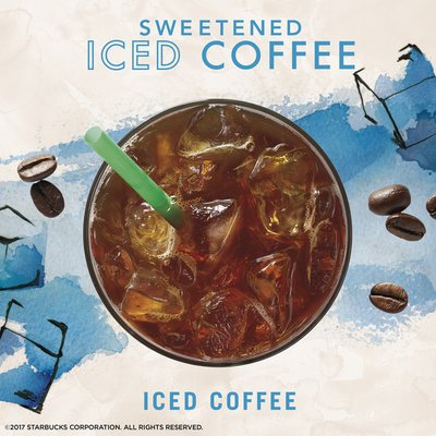 Starbucks VIA Instant Coffee Medium Roast Packets — Sweetened Iced Coffee
