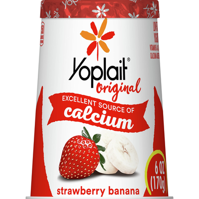 Yoplait Yogurt, Low Fat, Strawberry Banana