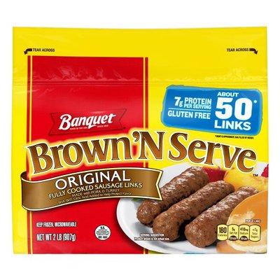 Banquet Brown N Serve Original Sausage Links