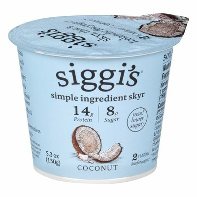 Siggi's Yogurt, Lowfat, Coconut