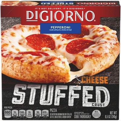 DiGiorno Cheese Stuffed Crust Pepperoni Frozen Pizza