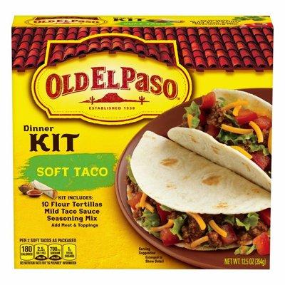 Old El Paso Soft Taco Dinner Kit