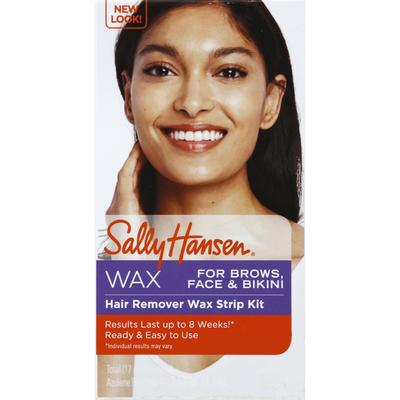 Sally Hansen Wax Strip Kit, Hair Remover