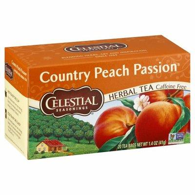 Celestial Seasonings Country Peach Passion Caffeine Free Herbal Tea Bags