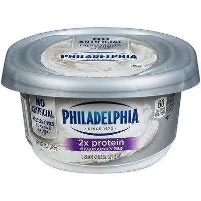 Philadelphia Cream Cheese Spread with 2X Protein