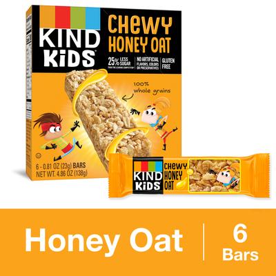 KIND Kids Granola Bars, Chewy, Honey Oat