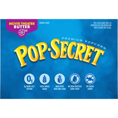 Pop Secret Movie Theater Butter Microwave Popcorn
