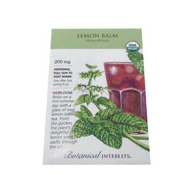 Botanical Interests Organic Lemon Balm Seeds