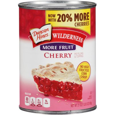 Duncan Hines More Fruit Cherry Pie Filling & Topping
