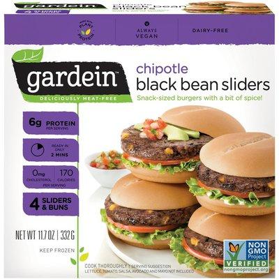 Gardein Chipotle Black Bean Sliders