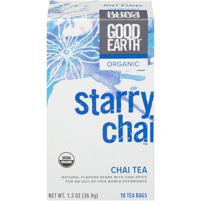 Good Earth Organic Starry Chai Tea Bags