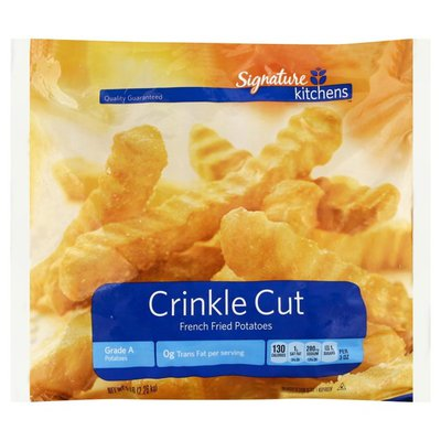 Signature Kitchens Classic Crinkle Cut French Fried Potatoes