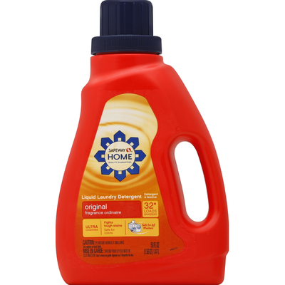 Signature Home Liquid Laundry Detergent, Ultra Concentrated, Original