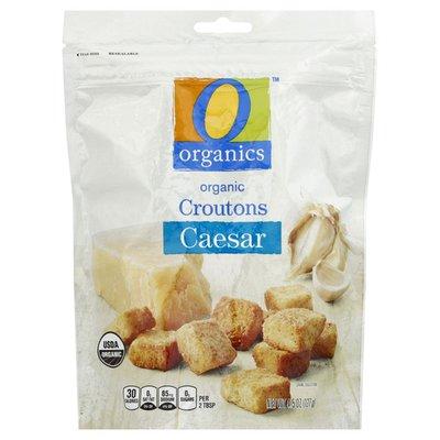 O Organics Croutons, Organic, Caesar