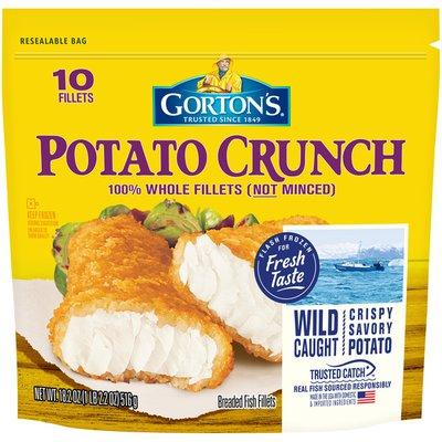 Gorton's Potato Crunch Breaded Fish Fillets