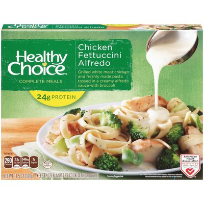 Healthy Choice Chicken Fettuccini Alfredo Complete Meals